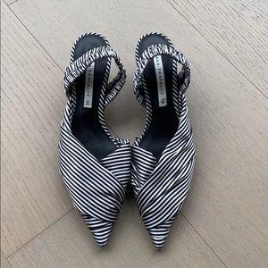 Zara Shoes - Low Heel Slingback Heels
